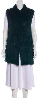 Love Token Sleeveless Fur Vest w/ Tags