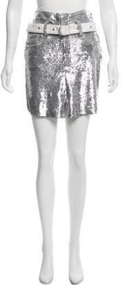 IRO 2018 Sequined Mini Skirt w/ Tags