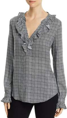 Paige Amalfi Houndstooth Shirt - 100% Exclusive