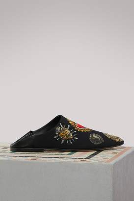 Dolce & Gabbana Zendaya Hearts mules