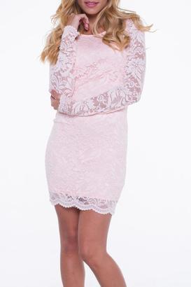 Bella Lace Mini Dress $86 thestylecure.com