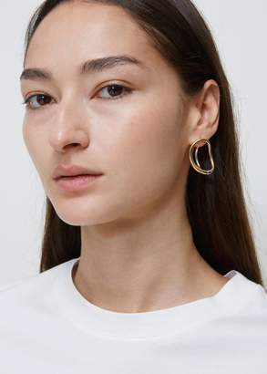 yellow in vermeil charlotte maple lyst left chesnais jewelry earrings product single normal earring