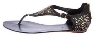 L.A.M.B. Embellished Thong Sandals