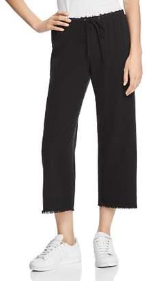 Bailey 44 Poppy Seed Wide-Leg Silk Pants