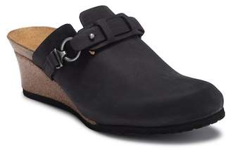 Birkenstock Dana Wedge Leather Slip-On Clog - Discontinued