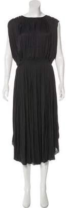 Ulla Johnson Pleated Maxi Dress
