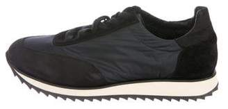 James Perse Woven Low-Top Sneakers