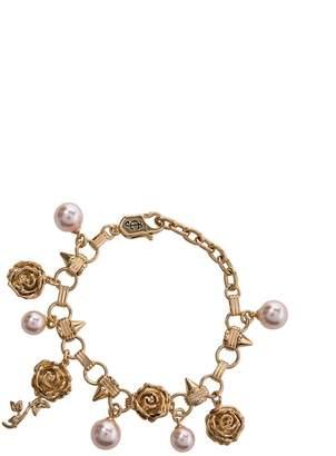 Juicy Couture Rose Statement Charm Bracelet