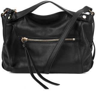 Kooba Blanche Leather Crossbody Bag, Black $248 thestylecure.com