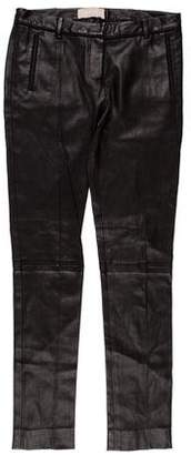 Jason Wu Low-Rise Leather Pants