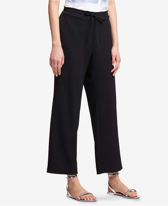 DKNY Pull-On Wide-Leg Pants, Created for Macy's