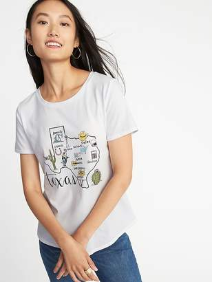 Old Navy Relaxed Texas-Graphic Tee for Women