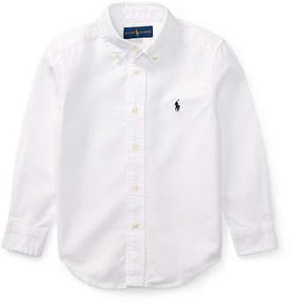 Ralph Lauren Childrenswear Oxford Sport Shirt, Size 2-4