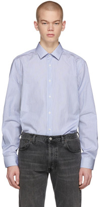 BOSS Blue T-Charlie Striped Shirt