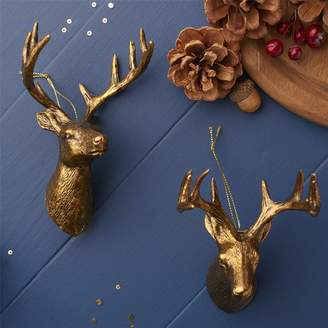 The Christmas Home Gold Reindeer Christmas Decoration