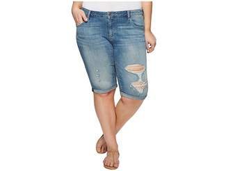 Lucky Brand Plus Size Ginger Bermuda Shorts in Indian Hills Women's Shorts