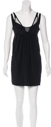 Kaufman Franco KAUFMANFRANCO Sleeveless Mini Dress