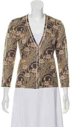 972652485ec59b Pre-Owned at TheRealReal · Tory Burch Floral Printed Cardigan