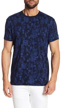 Ben Sherman Botanical Print Short Sleeve Tee