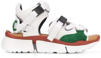 Chloé colour-block sandals