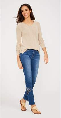 J.Mclaughlin Jaycie Embroidered Jeans