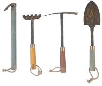 A&B Home Garden Tool 4 Piece Sculpture Set