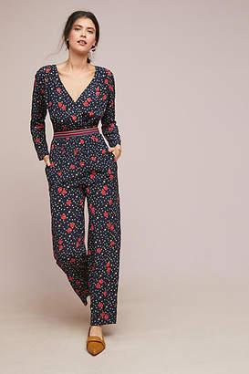 MiH Jeans Vale Silk Jumpsuit