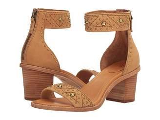 Frye Brielle Deco Back Zip Women's Dress Sandals