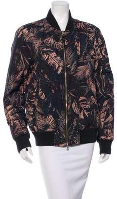 Paul Smith Printed Bomber Jacket $145 thestylecure.com