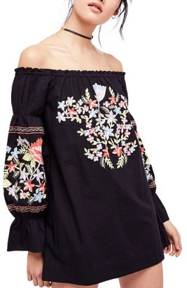 Women's Free People Fleur Du Jour Shift Dress $148 thestylecure.com