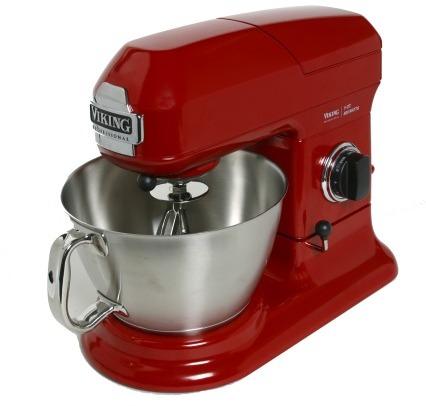 Sur La Table Viking 5-Quart Professional Stand Mixer, Red