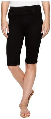 Tribal Pull-On 13 Bermuda Dream Jeans in Black Women's Shorts