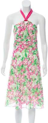 Lilly Pulitzer Printed Knee-Length Dress