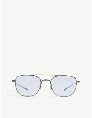 Oliver Peoples Kress aviator sunglasses