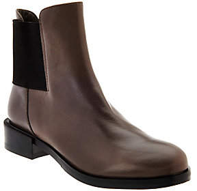 Clarks Narrative Leather Chelsea Boots -Marquette Wish