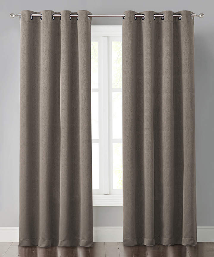 Brown Miko Curtain Panel