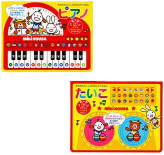 Mikihouse (ミキハウス) - ミキハウス ピアノ・たいこセット