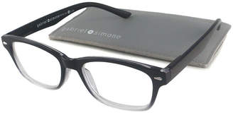 Asstd National Brand Gabriel + Simone Reading Glasses - Metro Black Fade
