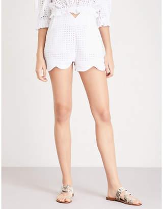 Paper London Fraise cotton shorts