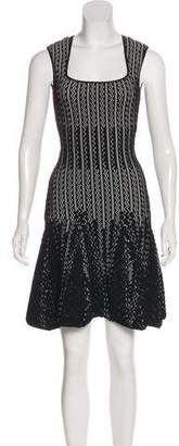 RVN Pleated Midi Dress