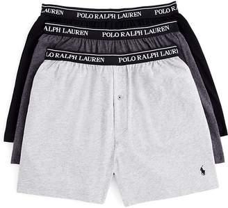 Polo Ralph Lauren Knit Cotton Boxers, Set of 3 $39.50 thestylecure.com