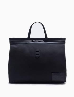 Calvin Klein monogram logo packable tote bag