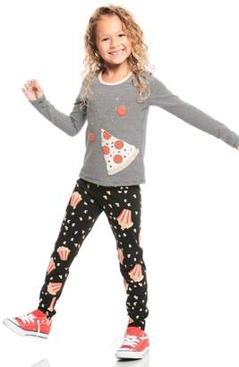 Truly Me Pizza Applique Tee
