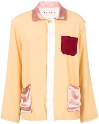 Marni peaked collar jacket