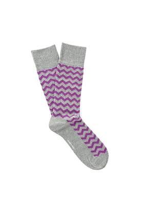 Country Road Herringbone Socks