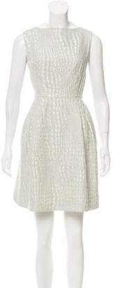 Ted Baker Sleeveless Jacquard Dress