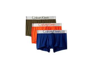 Calvin Klein Underwear Steel Micro 3-Pack Low Rise Trunk