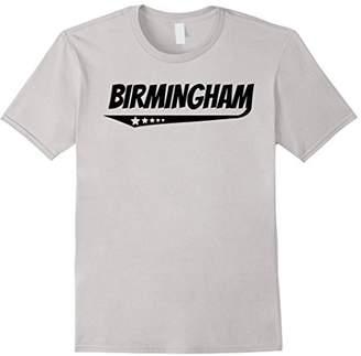 Birmingham Retro Comic Book Style Logo T-Shirt