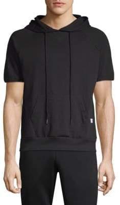 Kinetix Amalfi Short-Sleeve Cotton Hoodie