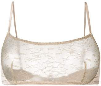Myla lace square neck bra